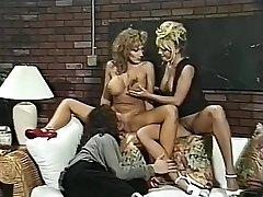 Hottest pornstars Menage Trois and Anna Amore in incredible threesomes, nurse xxx flick