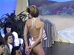 Trio retro topless bikini contests