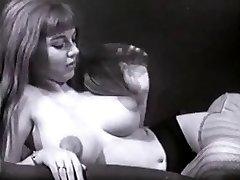 Vintage Big Tits Boobs Perky Nipples Pubic Hair