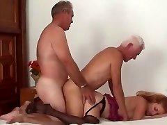 Mature Bi Couple Three Way