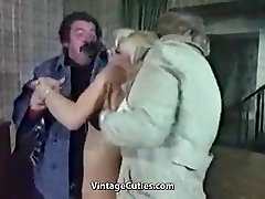 Slutty Blonde Abjected Really Tough (1970s Vintage)