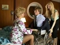 Sharon Mitchell, Jay Pierce, Marco in antique hump scene