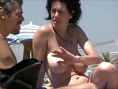 beach big-titted french vintage