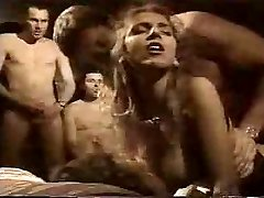 French Retro Gang-bang in Motel Room by TROC