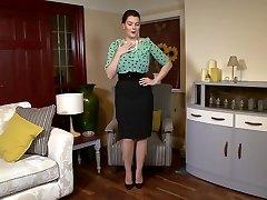 Victoria C - Sophisticated nylon admiration!