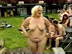 Horny Maison video avec de la Sexe de Groupe, Mamies scènes