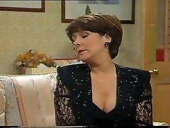 Lynda Bellingham Super-sexy Black Dress