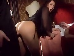 Cougar fucks with another front of hubby