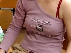 Warm young schoolgirls fucked by the teacher