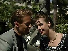 Retro anal orgy with Rocco Siffredi