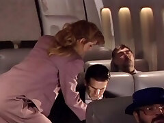 loving flight attendant
