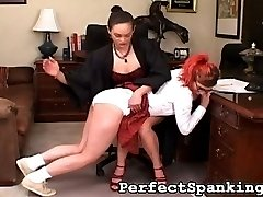 Our sexy Principal has so much on her plate nowadays, she really has no time to discipline her...