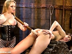 Welcome local model and masochist Bianca Stone to Whipped Ass. Bianca likes to be challenged...