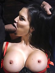Big tit fuck doll Jasmine Jae submits to Steve Holmes cruel attentions and his Big Fucking Dick....