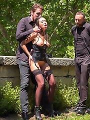 Part 1 - Spanish Slut Fucked OutdoorsFrida Sante is a pretty Spanish slut who loves to take it...