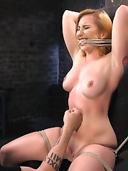 Sophia is a true masochist and gets wet from brutal torment. Her shoots are always extreme and...