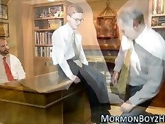 Elders shave mormons manhood