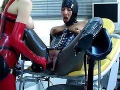 Horny in rubber
