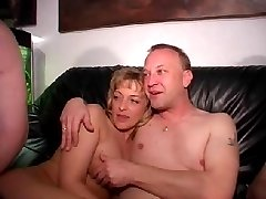 German amateur video filmed during swinger orgy in a private club