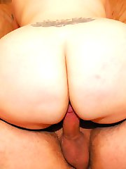 Big booty white girls are fun to fuck!