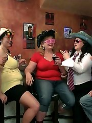 The beautiful BBW party features some seriously hot fat chicks getting it on for your pleasure