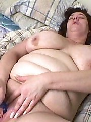 Big toys and big cock for her pussy
