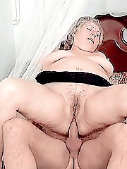 Cum hungry fatty swallowing fresh splooge