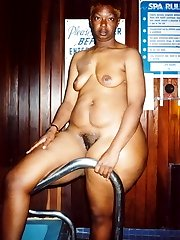 Butter is a mature black woman who likes it in the shower.  Cum get in with her and play with her huge sexy round booty too