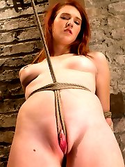 Beautiful newcomer Ashley Lane has been tied up once or twice but never like this. Sergeant...