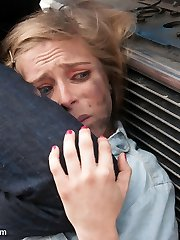 Cent Pax does an outstanding performance in this feature update also starring Tommy Pistol!    Penny is an enthusiast of extreme tough restrain bondage fucky-fucky and taboo role-have fun.  In this fantasy screenplay, Penny plays a wholesome and naive gal who meets a raunchy neck in the waiting room at their therapists office.  Despite his blatant disintrest in Penny and her type, she attempts to befriend him by demonstrating up at the autobody supermarket where he works.  Her persistant offers to help him with his troubled life ignites a fire inside Tommy who suddenly becomes overwhelmed with rage.  He then sexually and aggressively breaks little harmless Cent down into a filthy slut, without mercy drilling all of her holes right there at the supermarket!  She is completely overwhelmed by his wrath but is joyfully liberated from her previously repressed sexiness.