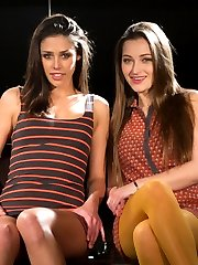 Welcome all natural beauties Dani Daniels and Anna Morna to Whipped Ass! Both of these gorgeous women are very interested in BDSM and looking to push their limits. In this sexy role play update they play wannabe lingerie models looking to score a job on New York's runways. Casting agent Madeline puts them through rigorous training in her own special way to get them ready for the runway. This is an intense and very sexy shoot with Madeline skillfully dominating both girls at the same time. Lots of spanking, tit torture, intense flogging, humiliation, blindfolds, pussy licking, ass worship, strap on fucking and anal with fingers are included. Don't miss Dani's tearful orgasmic response!