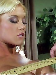 Slender beauty Dru Berrymore shows off her sore red ass after a spanking
