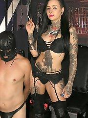 Tattooed Smoking Bitch