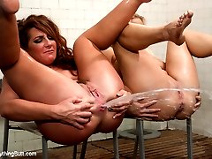 Two horny big butt girls push limits and take their anal game to the next level! Savannah Fox...