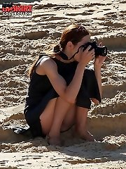Upskirt amateurs get on the spy cam