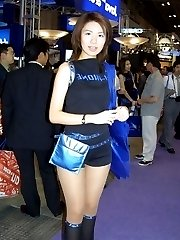 Hot looking Asians wear the sexiest shorts