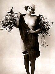 Vintage girls in stockings
