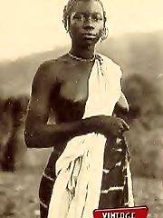Ethnic vintage nude ladies