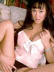 Asia Carrera sexy in a naughty strip show