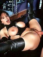 Keisha in fetish gear fucking a dude