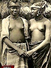 Vintage ethnic nude girls