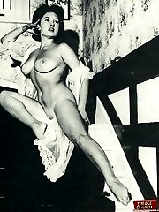 June Palmer showing it all