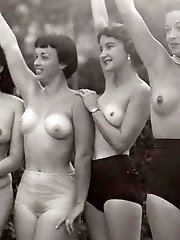 Real vintage outdoor chicks