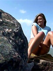 Teen girl makes hot video for her boyfriend only