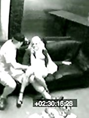 A horny janitor fucks a drunk girl he finds after a party