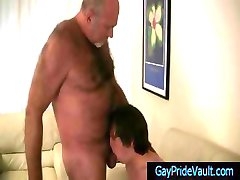 Old gay bear getting his dick sucked by twink gaypridevault part4