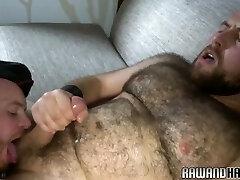 Lush bearded bear gets anally fucked