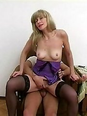 Lady's obscene pleasure