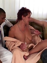 They get duped by a cutie at the bar and end up at the house of a mature whore to smash