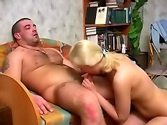 Old cock deep in fresh pussy